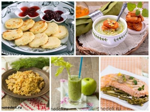 Диета при повышенном холестерине, меню на неделю