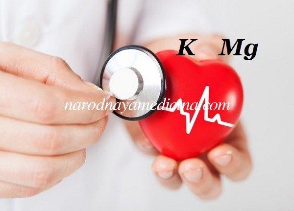 Препараты с калием и магнием для сердца: список таблеток и продуктов
