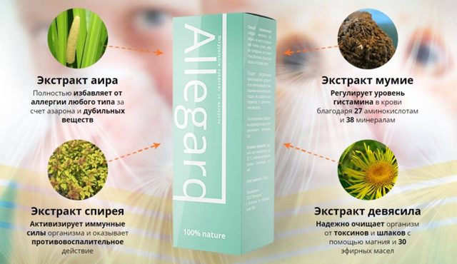 allegard - первое средство от аллергии с индивидуальным составом