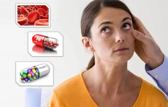 Анемия у женщин: признаки и симптомы