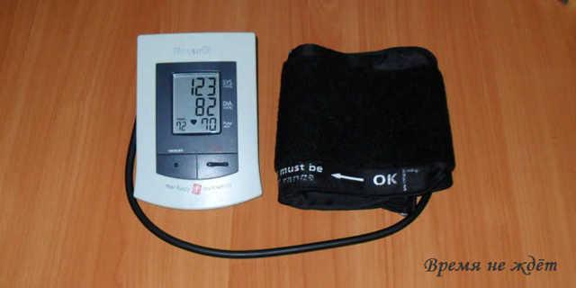 Дневник самоконтроля артериального давления: таблица для измерений