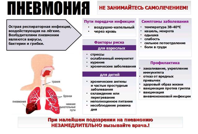Анализ крови при пневмонии: симптомы, подготовка и расшифровка