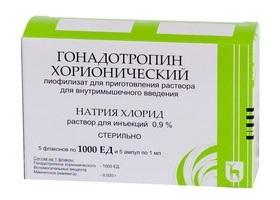 Укол ХГЧ (гонадотропин хорионический) инструкция по применению